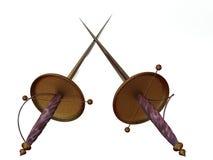 Espadas Foto de Stock
