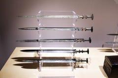 Espadas chinas Fotografía de archivo