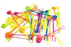 Espadas coloreadas Imagen de archivo libre de regalías