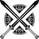Espadas da fantasia. segunda variação Imagens de Stock