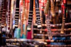 Espadas del samurai Imágenes de archivo libres de regalías