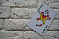 Espadas reales del flash del casino de las tarjetas que juegan póker casino imagenes de archivo