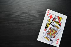 Espadas reales del flash del casino de las tarjetas que juegan póker juego stock de ilustración