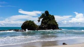 Espadilla south beach Royalty Free Stock Photo
