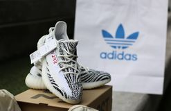 Espadrille de chaussures d'Adidas photo stock