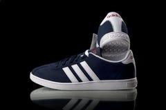 Espadrille de classique d'Adidas Vue supérieure Photo libre de droits