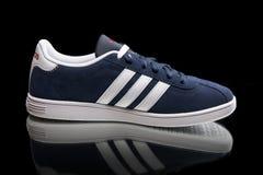 Espadrille de classique d'Adidas Vue supérieure Photographie stock libre de droits