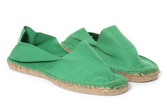 Espadrille in studio Stock Photography