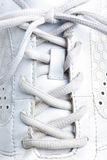 Espadrilles blanches Photos libres de droits
