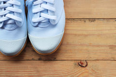 Espadrilles blanches Photographie stock