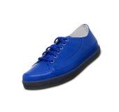 Espadrilles bleues Photo libre de droits