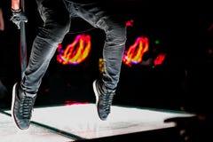 Espadrilles danseur, pieds Photo libre de droits