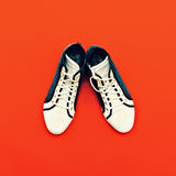 Espadrilles de mode Photographie stock libre de droits