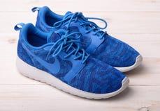Espadrilles de Nike pour le fonctionnement Photo stock