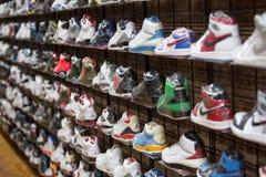 Espadrilles et chaussures de sport Photos libres de droits