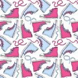 Espadrilles Fond sans couture Image stock