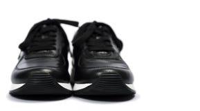 Espadrilles noires Image stock