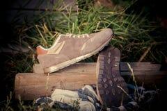 Espadrilles pour former, chaussures de sports Photo stock