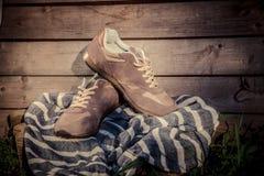 Espadrilles pour former, chaussures de sports Image stock