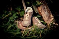 Espadrilles pour former, chaussures de sports Photos stock