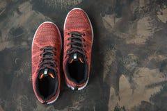 Espadrilles pour la femme Chaussures pour la forme physique et le sport Photos stock