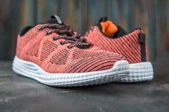 Espadrilles pour la femme Chaussures pour la forme physique et le sport Images libres de droits