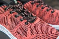 Espadrilles pour la femme Chaussures pour la forme physique et le sport Photo stock