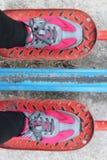 Espadrilles rouges brouillées Photo stock