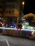 Espagna καρναβάλι στοκ εικόνες