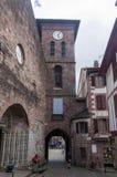 ` Espagne de la rue d dans le saint Jean Pied de Port Image stock