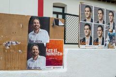 Espagnol 2015 élections Photo libre de droits