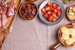 Espagnol délicieux Tapas Food Images libres de droits