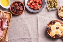 Espagnol délicieux Tapas Food Photo stock