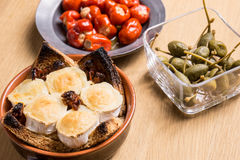Espagnol délicieux Tapas Food Images stock