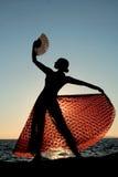 Espagnol de flamenco de danseur Image libre de droits