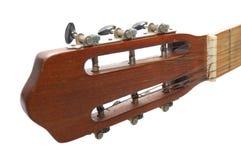 Espagnol de guitare de fingerboard Images libres de droits