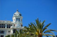 Espagnol de l'Espagne d'architecture d'Alicante Photo libre de droits