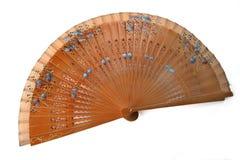 Espagnol de ventilateur Images stock