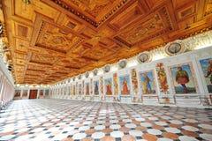 Espagnol Hall de château d'Ambras à Innsbruck, Autriche Image stock