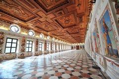 Espagnol Hall de château d'Ambras Photo libre de droits