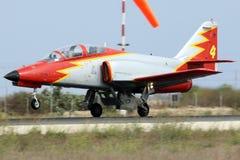 Espagnol Jet Trainer Images stock