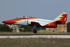 Espagnol Jet Trainer Photographie stock libre de droits