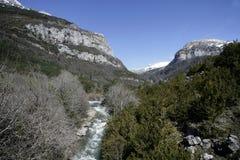 Espagnol Pyrénées Photos stock