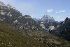 Espagnol Pyrénées Image stock