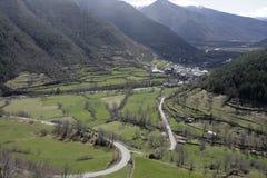 Espagnol Pyrénées Photo libre de droits