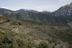 Espagnol Pyrénées Photographie stock libre de droits