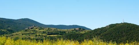 Espagnol Pyrénées de panorama Photo stock