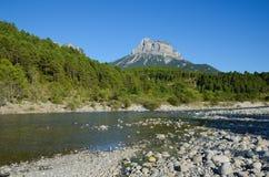 Espagnol Pyrénées en été Images stock