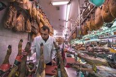 Espagnol traditionnel Jamon Photographie stock libre de droits