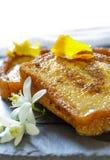 Espagnol traditionnel torrijas (pains grillés français) Dessert de semaine sainte Photo libre de droits